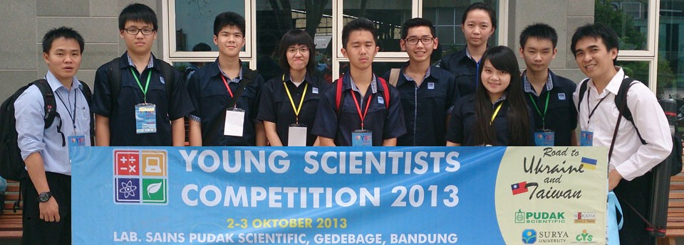 YSC - Young Scientist Competition 2013