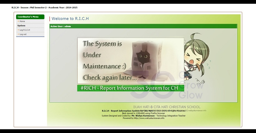 R.I.C.H - Report Information System for Cita Hati