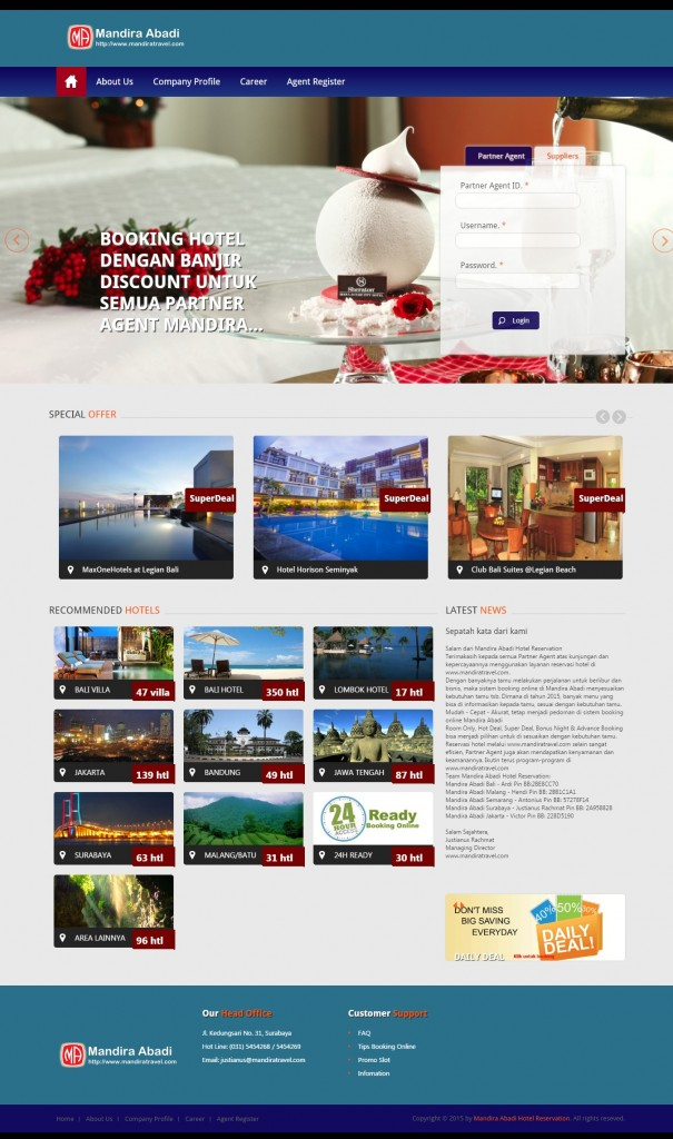 Mandira Abadi Hotel Reservation