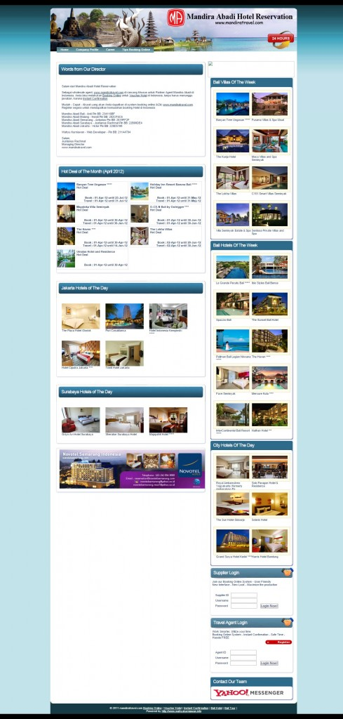 Mandira Abadi Hotel Reservation - Booking Online   Voucher Hotel   Mudah - Cepat - Akurat